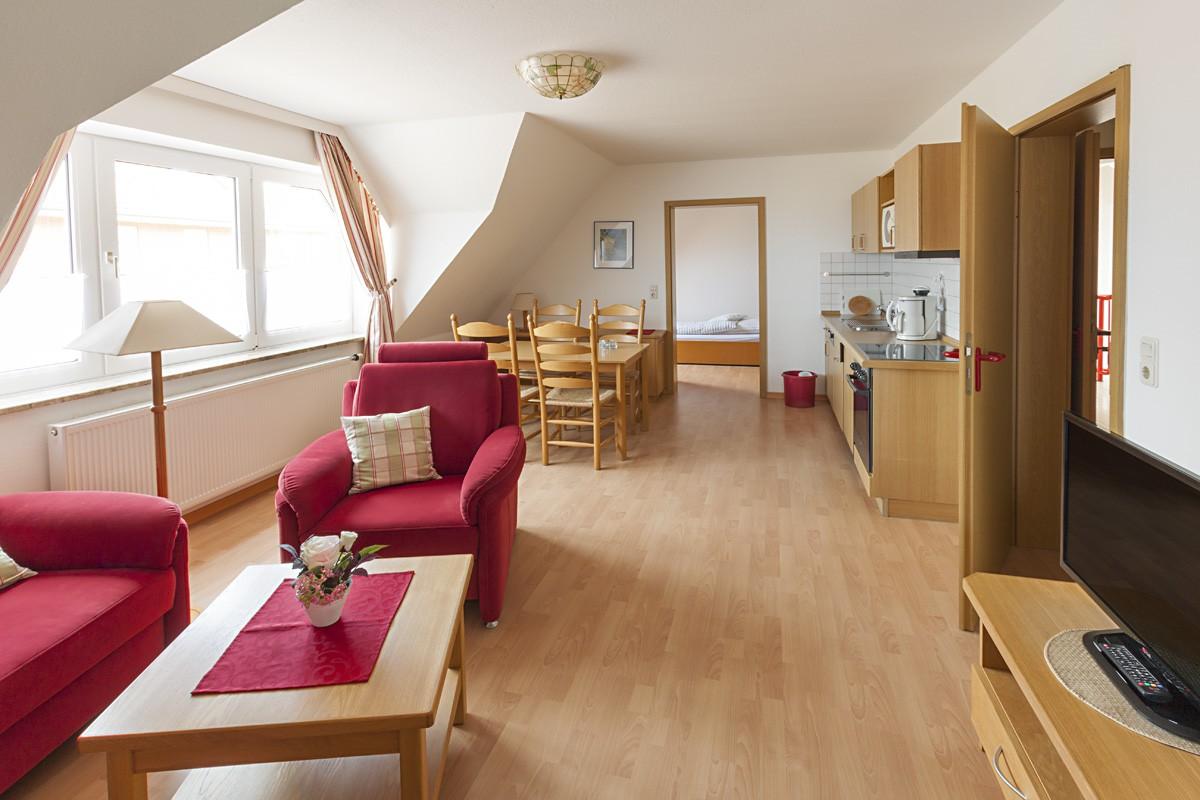 haus am strand auf baltrum wohnung 3. Black Bedroom Furniture Sets. Home Design Ideas